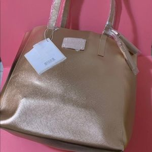 Michael Kors Rose Gold Tote